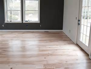 maple plywood planked floor process