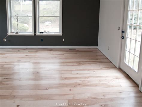 Plywood Floors Diy by Maple Plywood Planked Floor Process