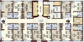 hotel floor plan deploying wifi in the hospitality industry including