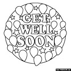 free coloring pages get well soon google search