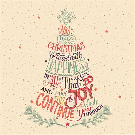 artful words christmas card   island