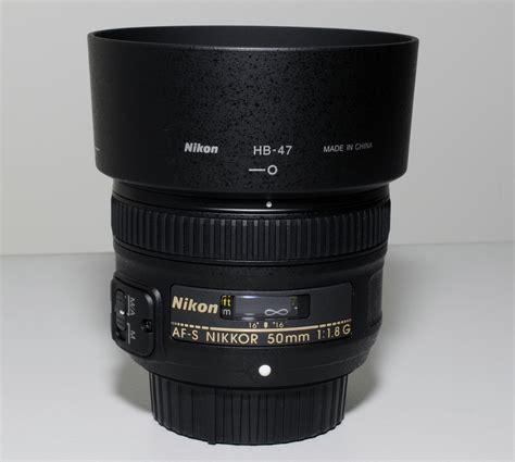 Nikkor 50mm F 1 8g nikon af s nikkor 50mm f 1 8g lens