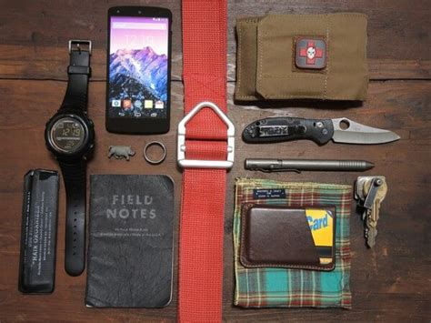 edc carry gear everyday carry gear edc list considerations
