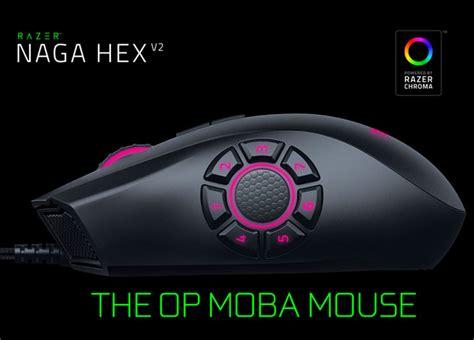 Razer Naga Hex V2 16000 Dpi The Op Moba Gaming Mouse razer naga hex v2 chroma laser gaming mouse