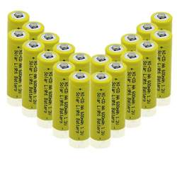 aa rechargeable batteries for solar lights best solar light rechargeable batteries ledwatcher
