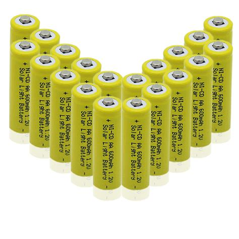 solar light battery solar light batteries rechargeable batteries 10 x aa ni
