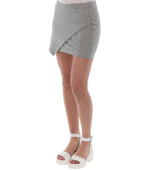 bench skirt bench mbabane b mini skirt in gray lyst