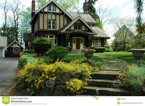 Tudor Style Floor Plans Tudor House Stock Photo Image Of Home Stone Stairs