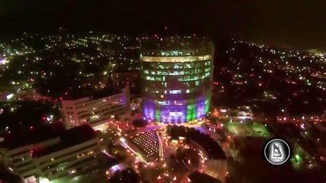 imagenes impresionantes de el salvador drone el salvador nocturna torre futura hilton youtube