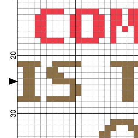 image pattern comparison comparison is the thief of joy cross stitch pattern