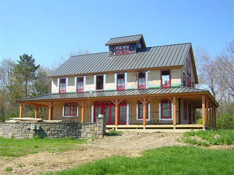 two story barn house brand new pole barn house for appealing and warm retreat