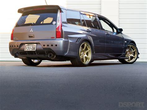 mitsubishi wagon mitsubishi lancer evolution ix wagon gt dsport magazine