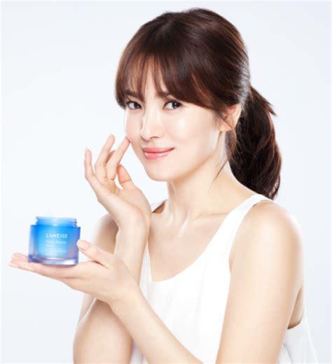 Resmi Laneige song joong ki dan song hye kyo jadi bintang iklan paling laris