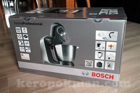 Mixer Bosch Mum57830 singapore food keropokman singapura makan gadget review bosch mum5 homeprofessional