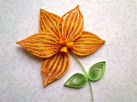 How To Make Paper Quilling - quilling flowers tutorial how to make a orchid with a