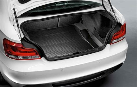 bmw genuine fitted protective car boot cover liner mat e82