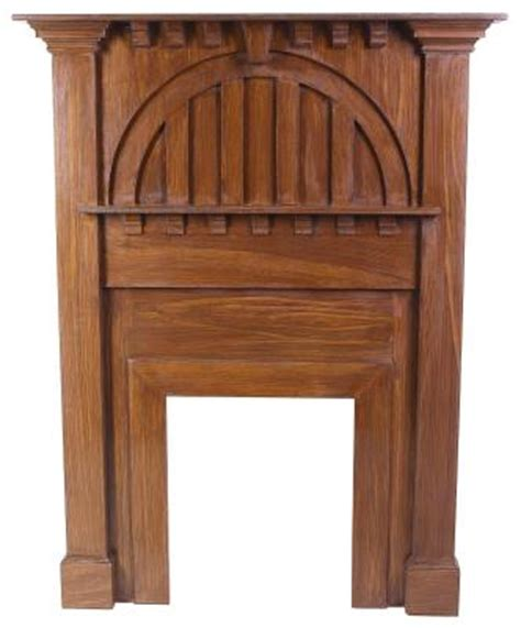 Arts And Crafts Fireplace Mantel by Arts Crafts Fireplace Mantels Home Guides Sf Gate