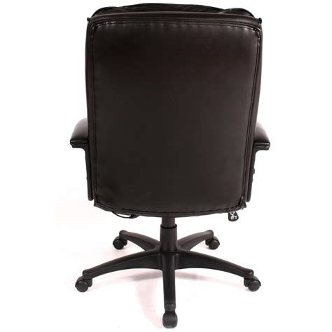 chair relaxzen 2 motor mid back leather office