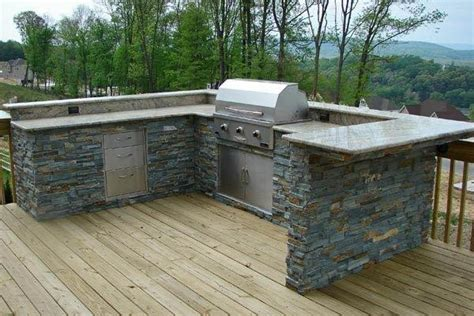 Alexandria Kitchen Island outdoor kitchen with wood deck traditional patio dc