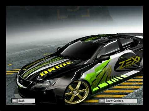 need for speed pro best cars need for speed prostreet customized cars