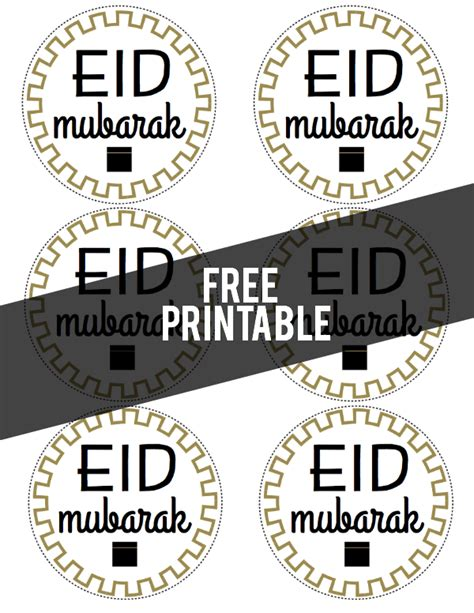 Printable Eid Stickers | eid mubarak printable labels glimmersnaps