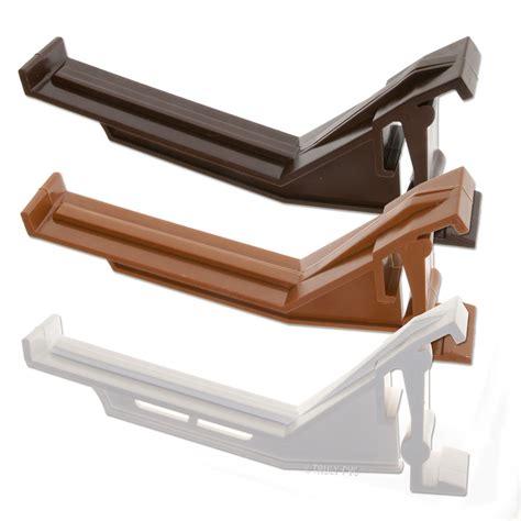10 x k2 c8043 conservatory gutter brackets ogee clip upvc