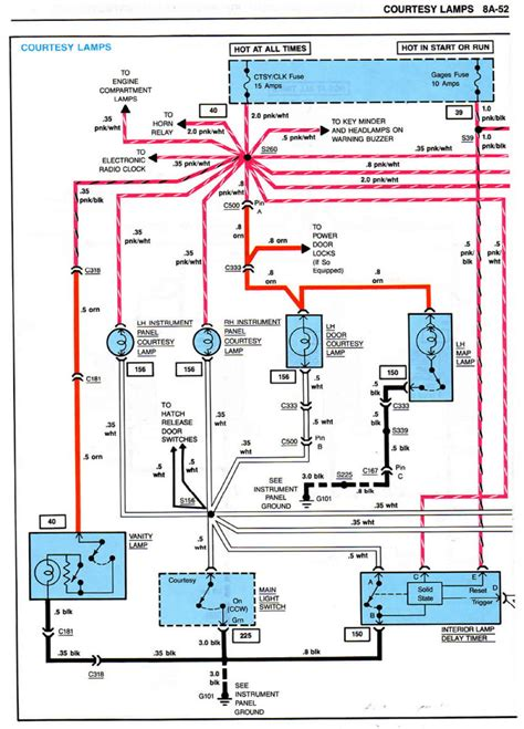 wiring diagram 1985 citroen electrical wiring diagram for