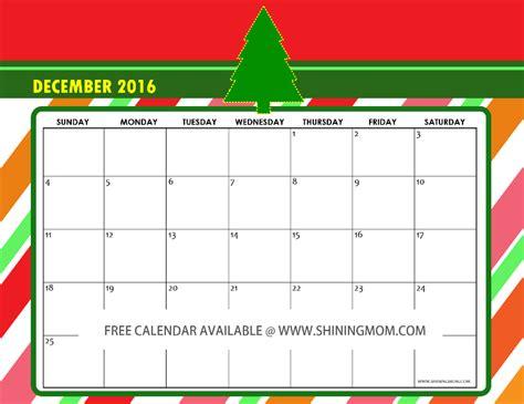 december 2015 calendars christmas themed designs free december 2016 calendars christmas themed designs