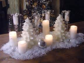 table decorations centerpieces how to create a snowy candle centerpiece hgtv