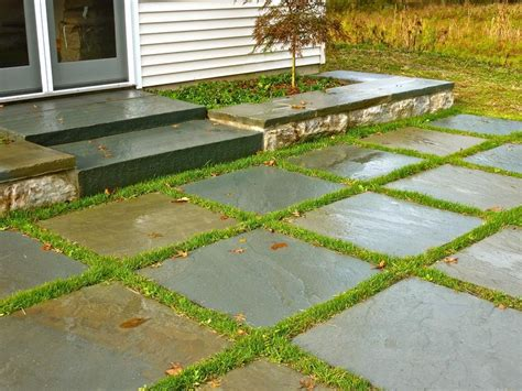 Grass Patio by Hudson Valley Landscaping Ridge Landscaping New