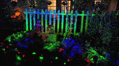 how to make outdoor laser christmas lights all home
