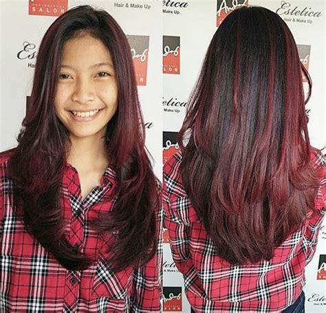 black hair w highlights sleek and hot hair beauty with ombre straight hair amoy