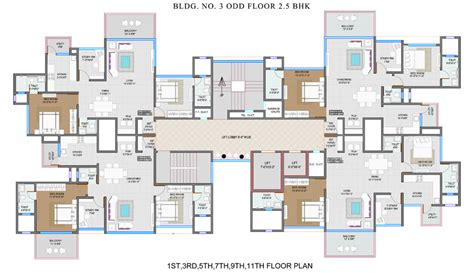 Apartment Living Room Layout rock realty ganga aurum park