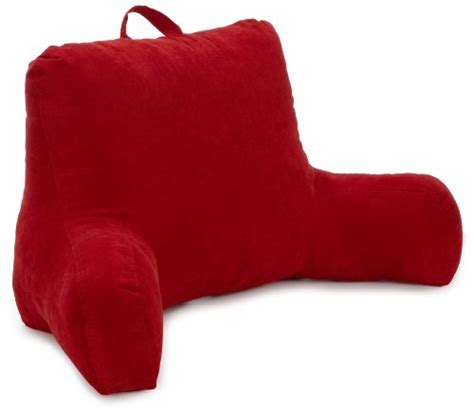 corduroy bed rest pillow red corduroy back rest chair lumbar position pillow