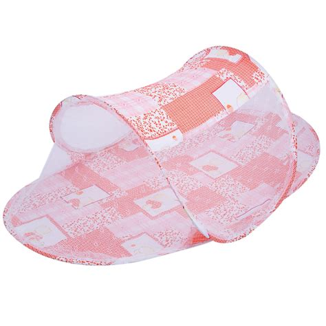 Baby Crib Cushion by Portable Baby Bed Crib Folding Mosquito Net Infant Cushion