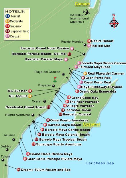 Riviera Maya Mexico Map by Map Of Resorts Riveria Maya Playa Del Carmen We Are