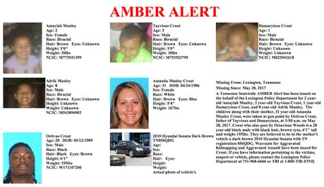 update amber alert suspects could face criminal charges amber alert update 4 kids woman found safe after
