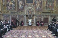 santa sede sala sta papa francesco udienza al corpo diplomatico