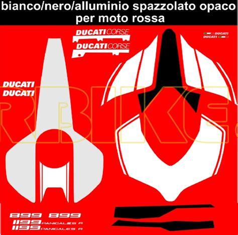 Ducati 1199 Sticker Kit by Vulturbike Ducati Panigale 899 1199 1299 R Look Decal