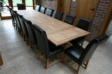 Oak Dining Room Table And Chairs by Refectory Tables Refectory Oak Dining Table Large