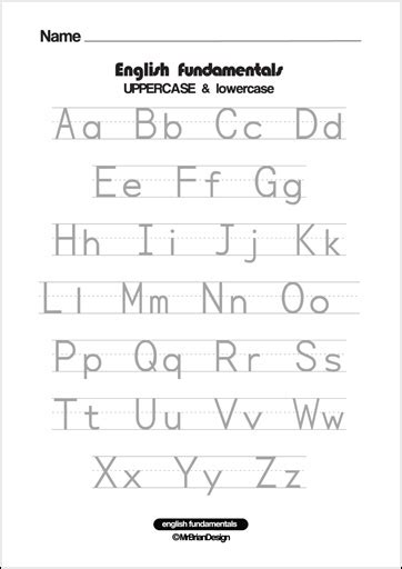 printable alphabet letters uppercase and lowercase free lowercase letter tracing coloring pages