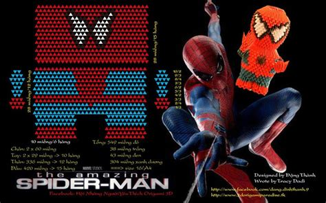 3d origami spider man tutorial 1000 images about 6 3d origami on pinterest