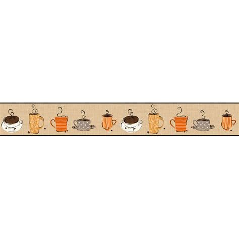wallpaper borders coffee cups coffee border clipart clipart suggest