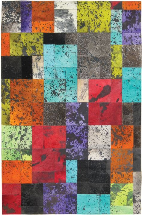 Colored Cowhide Rugs - colored cowhide rugs home decor