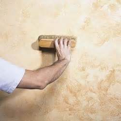 Faux Painting Textured Walls - decorare le pareti casa fai da te