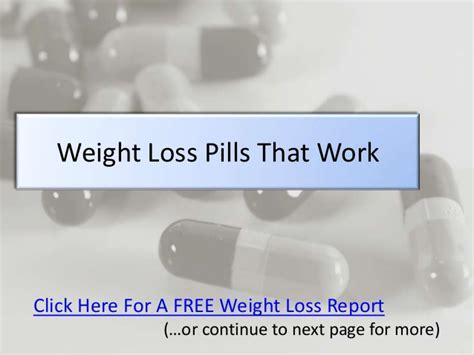5 weight loss pill weight loss pills that work