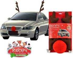 rudolph antlers and nose for your car 28 images car