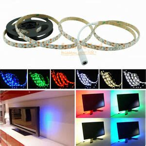 battery powered colored led light strips led light usb battery operated 4 5v 0 5 2m multi color connector cable ebay