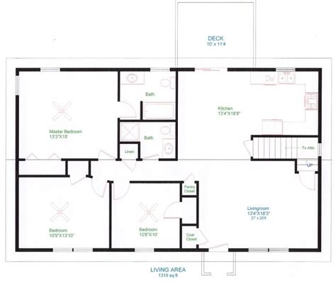 awesome simple floor plans for new homes new home plans