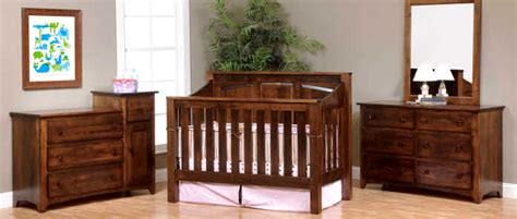 Amish Baby Cribs by Amish Baby Furniture Imade Of Solid Wood Usa Made Cribs